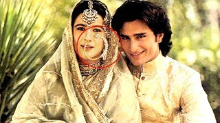 Saif Ali Khan and Amrita Singh WEDDING Picture TROLLED On Twitter MADLY