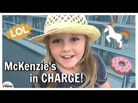 IF KIDS WERE IN CHARGE Shopping Sprees Roller Coasters and FUN Treats
