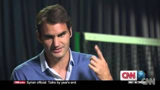 Roger Federer Interview - CNN
