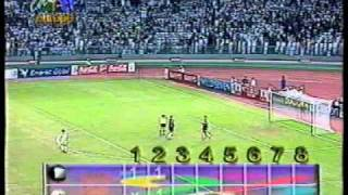 Iran Vs. Kuwait 1996 Asian Cup third place match penalty sho