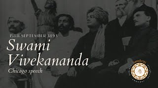 Swami Vivekananda Chicago Speech on 15th September,1893