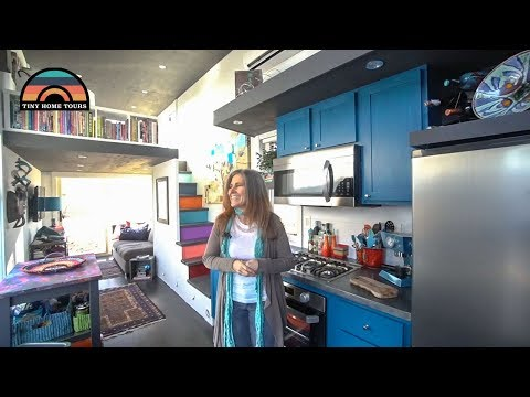 She Downsized Her Life & Moved Into A Gorgeous Tiny Home Tour & Tiny Living Insights