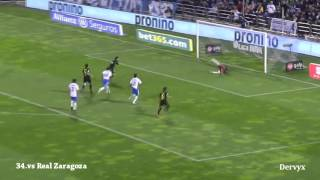 Lionel Messi  All 91 Goals in 2012 with Commentary - YouTube