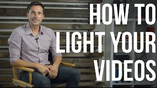 Video Lighting Tutorial (how to light your YouTube Videos)