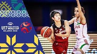 LIVE 🔴- Belarus v Japan - FIBA U17 Women's Basketball World Cup 2018