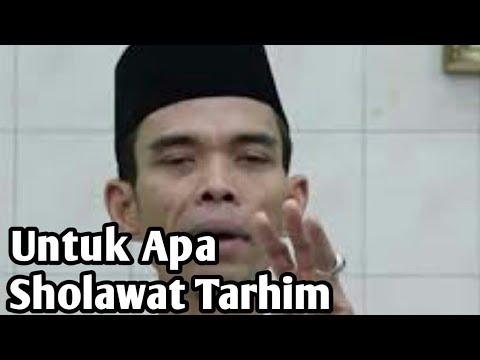 Untuka apa Sholawat Tarhim???