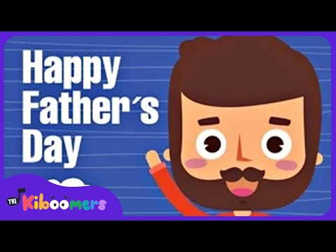 Father s Day Song for Children I Love My Daddy Yes I Do Song for Kids The Kiboomers