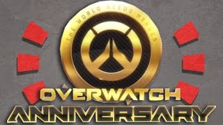 Overwatch Anniversary OFFICIAL START DATE (May 23)