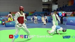 [WT Grand-Slam]M-80kg ,Jinfeng LIU(CHN) vs Mahdi KHODABAKHSHI(IRI)