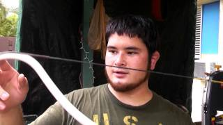 How to Make a Reinforced PVC Youth Recurve Bow - Part 3
