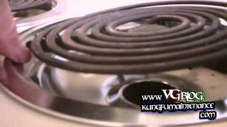 How To Fix Or Secure Loose Electric Range Hard Wired Surface Burner Elements