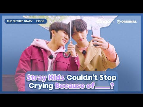 Stray Kids Cries At The Mountain Top The Future Diary EP.06 • ENG SUB • dingo kdrama