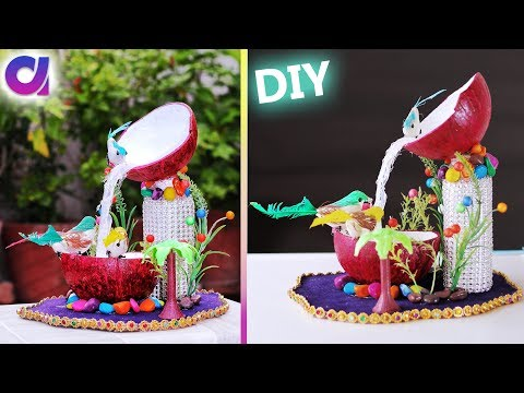 Xxx Mp4 How To Make Waterfall Showpiece Waste Coconut Shell Best Out Of Waste Artkala 288 3gp Sex