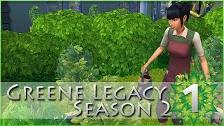 [ Greene Family: Season 2 ] A Budding Botanist! - Episode #1