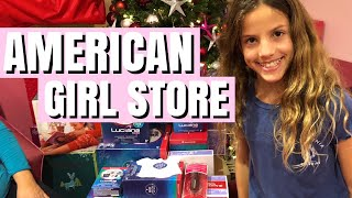 American Girl Store Trip to Buy 2018 Girl of the Year Luciana | Chloe Meets Fans
