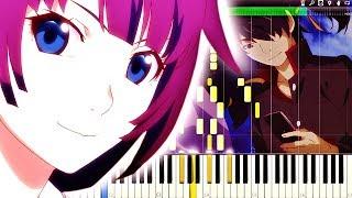 Owarimonogatari Season 2 Ending Full『SHIORI』Piano Tutorial,『終物語』ピアノ