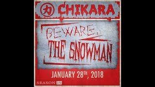 CHIKARA Beware the Snowman Highlights (Season 19 Premiere)