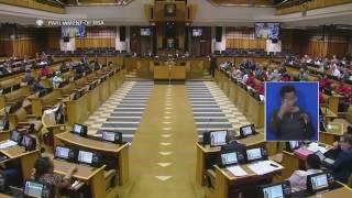 EFF VS THE ANC DRUNK MP Hon MAAKE