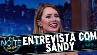 The Noite (05/09/16) - Entrevista com Sandy