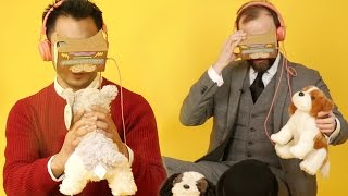 People Play With Virtual Puppies