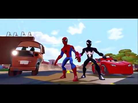 Hulk fil ve geyik Disney Cars Türk En guzeli (Çizgi Film Çocuklar için)