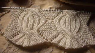 تريكو غرزة ضفيرة البليسة او الريب المضاعف لشغل كافة الاعمال الرجالي والنسائي knitting braided cable
