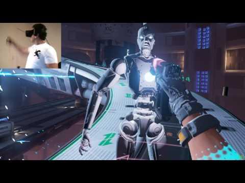 Raw Data - Oculus Rift VR Firstperson Shooter
