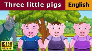 Three Little Pigs in English | English Story | Fairy Tales in English | English Fairy Tales
