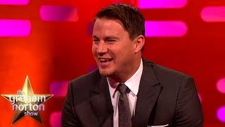Channing Tatum's First Stripper Costume Was A Boy Scout Uniform | The Graham Norton Show