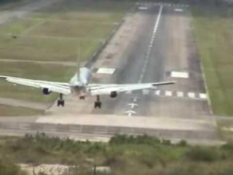 Aterrizaje Impresionante