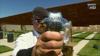 Mythbusters bulletproof badge [HD]