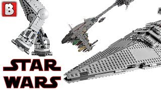 LEGO Star Wars Last Jedi TOP 3 Biggest Sets!!! | LEGO News