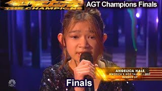 Angelica Hale sings Impossible AMAZING AGAIN | America