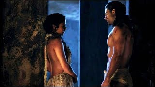 Gannicus & Melitta | Stay with me | Spartacus: Gods of the Arena