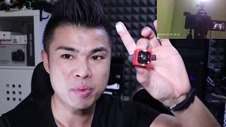 SQ11 Mini camera DV FULL HD economica da usare come Action Cam, Webcam, Spia Video audio Test ITA