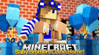 BRINGING MY TWIN BROTHERS HOME - Little Carly (Minecraft Roleplay)