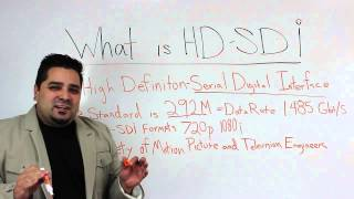 What is hd-sdi output for broadcasting applications?