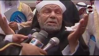 شاهد اخر تسجيل لفضيلة الشيخ محمد متولي الشعراوي