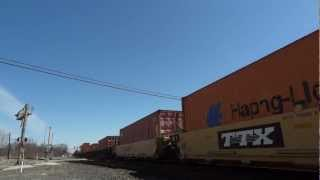 CP Freight Stops For Red Signal *HD*