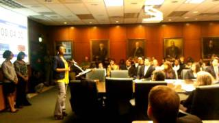 MSU - Black Student Association Statement to Bd. of Trustees - Part 2