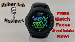 Samsung Gear S3/Gear Sport FREE Watch Faces in the Samsung Galaxy app Store! - Jibber Jab Reviews!