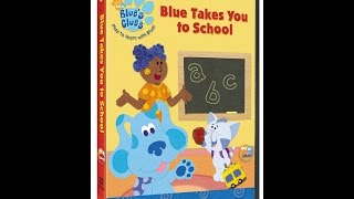 Opening To Blue's Clues:Blue Takes You To School 2003 DVD