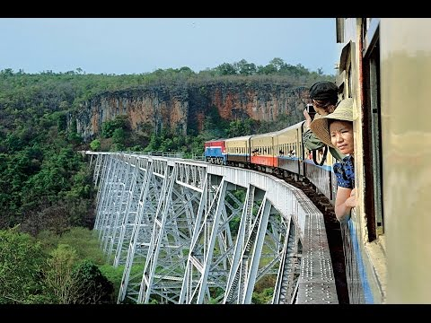 🇲🇲 Myanmar Time Travel by Rail