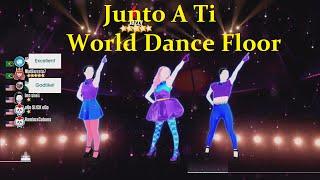 Just dance 2016 - Disney's Violetta - Junto a Ti - World Dance Floor (Xbox 360)