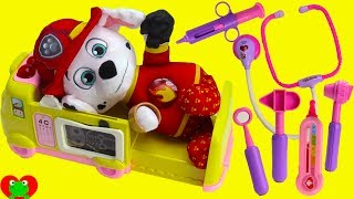Paw Patrol Marshall Burn Ouchie Ambulance Doctor