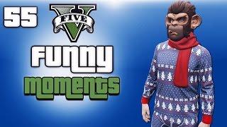 GTA 5 Next Gen Funny Moments Ep. 55 (Christmas DLC, Random Lobbies, Snowball Fight)