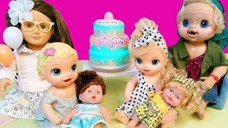 Baby Alive Oyuncak Bebek Lily ve Blonde Doğum Günü Sürprizi | Oyuncak Butiğim