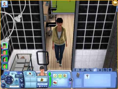 The sims 3 Gerações Oba oba no chuveiro