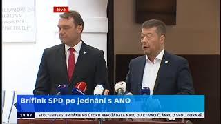 SPD a Tomio Okamura / EU nemá sílu na svou reformu...