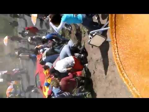 Accidente en arrancones deja 19 heridos en puebla